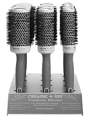 Hair Brushes Ceramic Ion Olivia Garden
