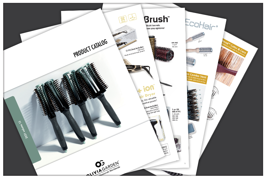 Olivia Garden | Professional hair brushes, shears, apparel, curlers